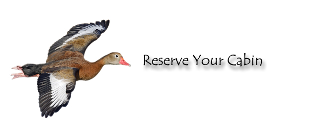Whistling duck cabins for Closest fishing store